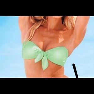 Victoria's secret bikini 2020 green bright bow S